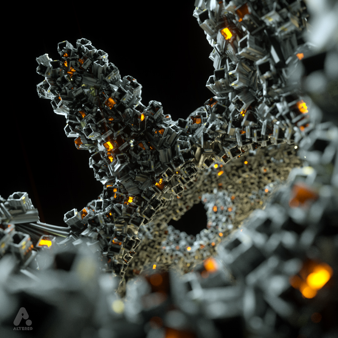 x-particles octane cinema4d CG 3D motion graphics