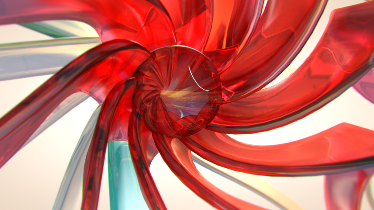 Glass flower style frame, design, after effects,art direction lee robinson, altered.tv london